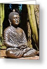 Woodland Meditation Greeting Card