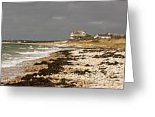 Woodneck Beach Greeting Card