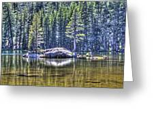 Woods Lake 1 Greeting Card