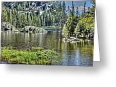 Woods Lake 2 Greeting Card