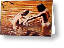 Woodstock Cover 2 Greeting Card