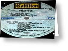 Woodstock Side 5 Greeting Card