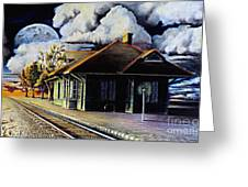 Woodstock Station Greeting Card