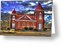 Woodville Baptist Church 2 Greeting Card
