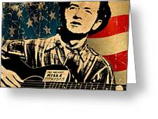 Woody Guthrie 1 Greeting Card