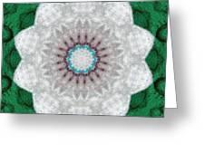 Wool Felt Kaleidoscope Greeting Card