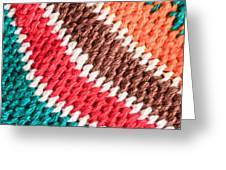 Wool Knitwear Greeting Card by Tom Gowanlock
