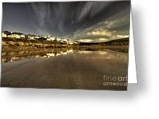 Woolacombe Beach Greeting Card