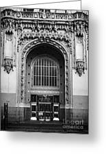 Woolworth Building Entrance Greeting Card
