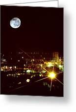 Worcester Moon Greeting Card