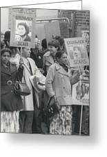 Workers At The Grunwick Laboratories Offered Council Houses Greeting Card