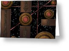 Workings Of The Universe Greeting Card