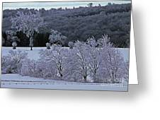 World Of Jack Frost Greeting Card