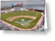 World Series Batting Practice - Att Park Greeting Card
