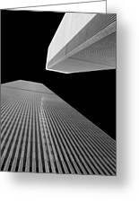 World Trade Center 2 Greeting Card