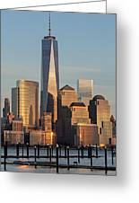 World Trade Center Freedom Tower Nyc Greeting Card