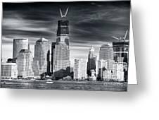World Trade Center Rebirth Greeting Card