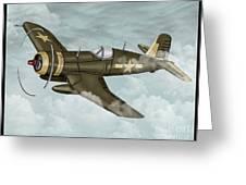 World War 2 Airplane Greeting Card
