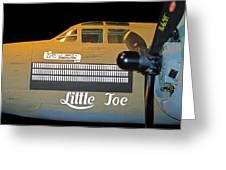 World War 2 Bomber Greeting Card
