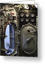 World War 2 Era Submarine Hatch - Pearl Harbor Greeting Card