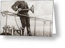 World War I Air Raid Siren Greeting Card