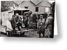 World War I: Ambulance Greeting Card