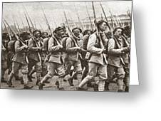 World War I Paris, C1917 Greeting Card