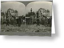 World War I Tank Greeting Card