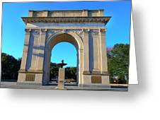 World War I Victory Arch Newport News Greeting Card