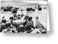 World War II: D-day, 1944 Greeting Card