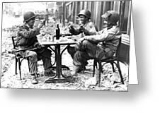 World War II: Paris, 1944 Greeting Card