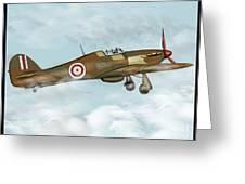world war II plane Greeting Card