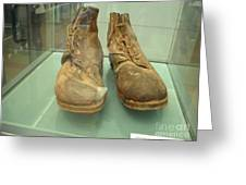 World War One Boots Greeting Card