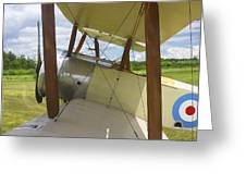 World War One Classic 1916 Sopwith Pup Biplane Greeting Card
