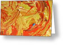 World Wide Abstract Greeting Card
