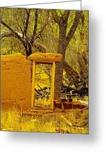 Worn And Weathered Greeting Card by Jeff Swan