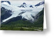 Worthington Glacier Greeting Card