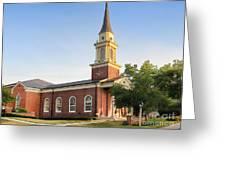Worthington Presbyterian Church Greeting Card