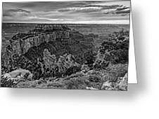 Wotan's Throne North Rim Grand Canyon National Park - Arizona Greeting Card