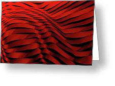 Woven Wave Greeting Card