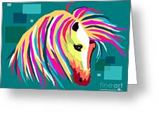 Wpap Horse Greeting Card