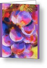 Wrath Of Grapes Greeting Card