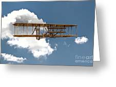 Wright Brothers First Flight Greeting Card