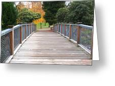 Wrights Park Bridge Greeting Card