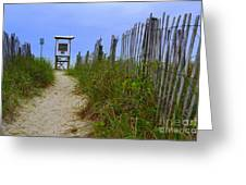 Wrightsville Beach Acess Greeting Card