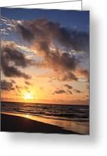 Wrightsville Beach At Sunrise Greeting Card