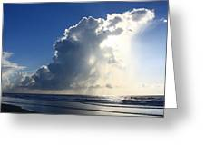 Wrightsville Beach Skyscape Greeting Card