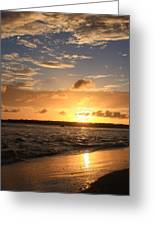 Wrightsville Beach Sunset Greeting Card