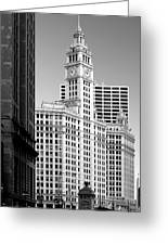 Wrigley Building - A Chicago Original Greeting Card