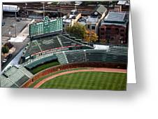 Wrigley Field Chicago Sports 04 Greeting Card